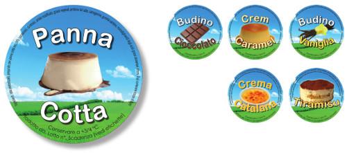 Linea Etichette Dessert