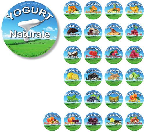 Linea Etichette Yogurt